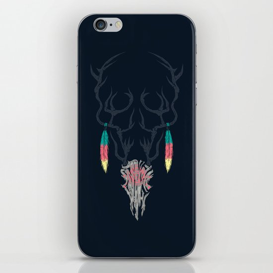 Darkness Within (Color Ver.) iPhone & iPod Skin