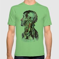 Anatomy [Quain] 2 Mens Fitted Tee Grass SMALL