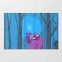Ghost of Mello Marsh Canvas Print