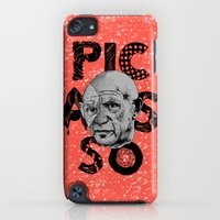 iPod Touch Cases featuring Pablo Picasso - History of Art by RJ Artworks