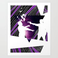 To Infinity and Goodbye Art Print