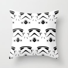 Troops Throw Pillow