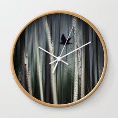 wild moment Wall Clock