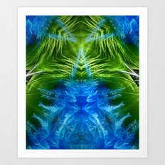 Insectile Energy Art Print