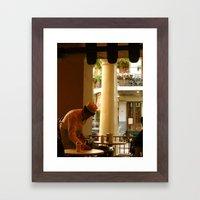 Cafe Du Monde NOLA. Framed Art Print