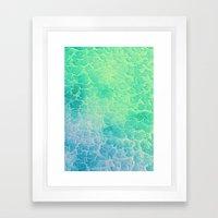 Tropical Waters Framed Art Print