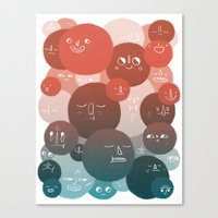 Blood Cells Canvas Print