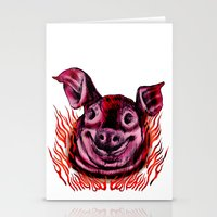 BBQ Stationery Cards