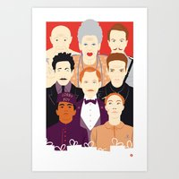 Many People In This Hote… Art Print