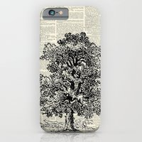 Vintage Oak Tree iPhone 6 Slim Case