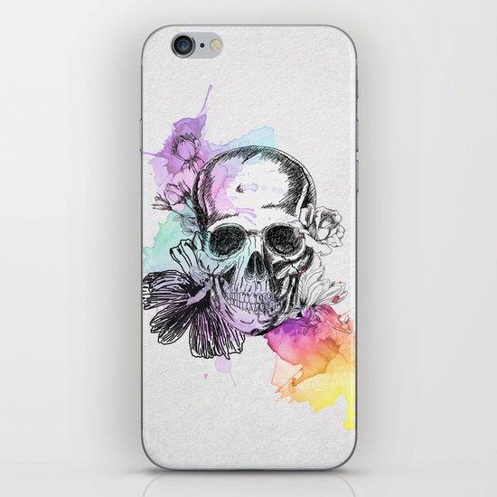 Color Skull iPhone & iPod Skin