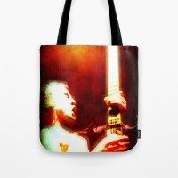 AC/DC Angus Young Tote Bag