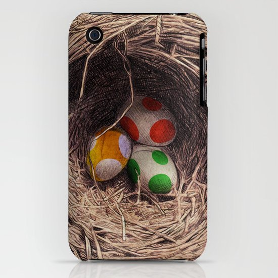 Yoshi Eggs iPhone & iPod Case