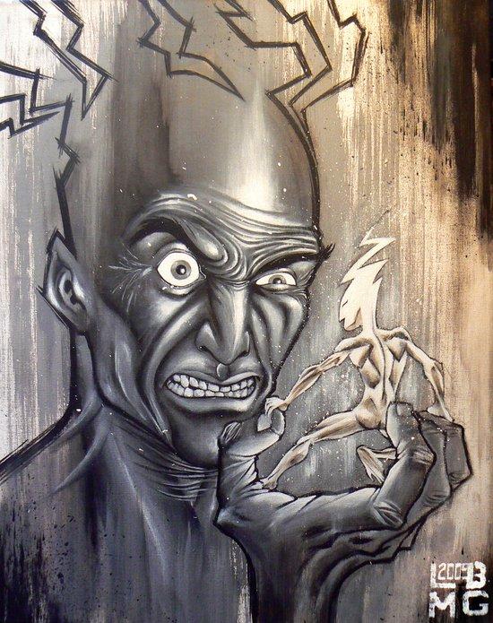 Antagonism Art Print