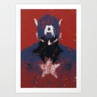 The Captain Art Print