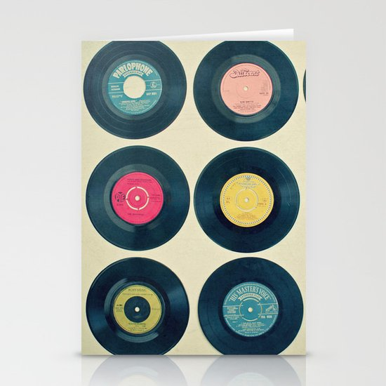 Vinyl Collection Stationery Card