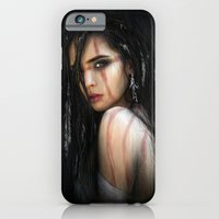 iPhone & iPod Case featuring Pale Feathers by Justin Gedak