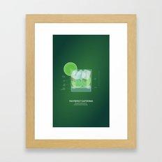 The Perfect Caipirinha Framed Art Print