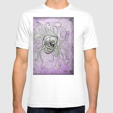 Luz's Toronto Spaghetti Monster Mens Fitted Tee White SMALL