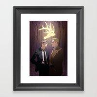The King In Yellow (True… Framed Art Print