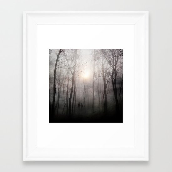 Eternal walk Framed Art Print