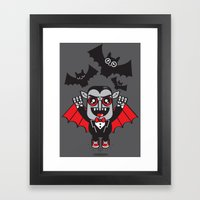 Evil Powers Of Pumped Up… Framed Art Print