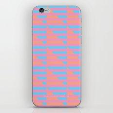 Pink Blue Peach Houndstooth /// www.pencilmeinstationery.com iPhone & iPod Skin