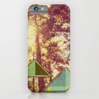 iPhone & iPod Case featuring Campsite by Laura Moctezuma