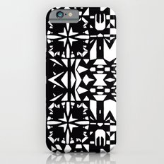 Black and White Square 3  Slim Case iPhone 6s