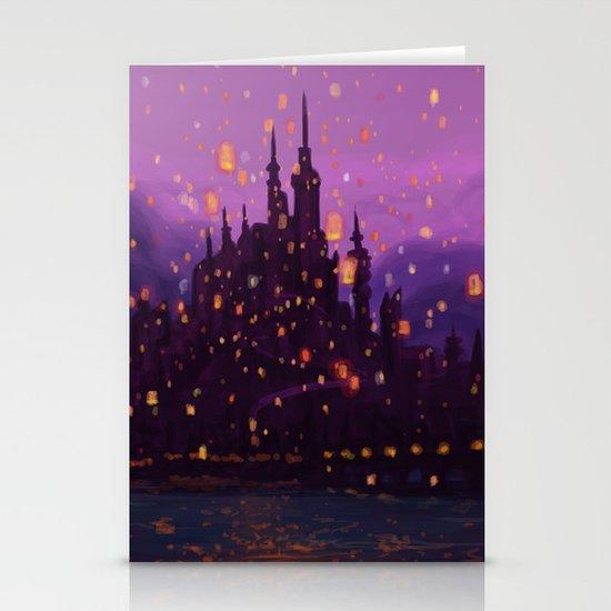 Portrait of a Kingdom: Corona  Stationery Card