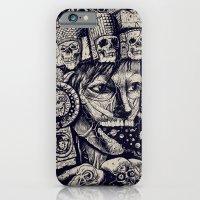 iPhone & iPod Case featuring Mictecacihuatl 2 by Jorge Garza