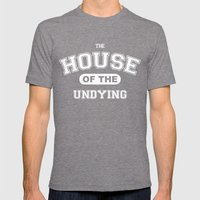 It's the House of the Undying. Mens Fitted Tee Tri-Grey SMALL