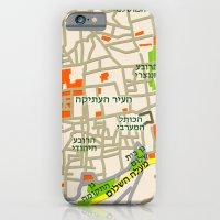 Jerusalem Map Design iPhone 6 Slim Case
