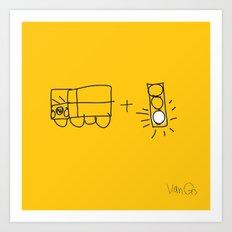 Artist Series: Van Go Art Print