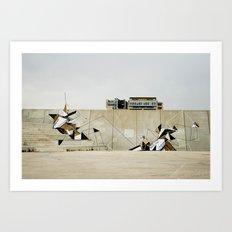 Diagonal Mar Art Print
