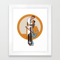 Lambda is for Love Framed Art Print