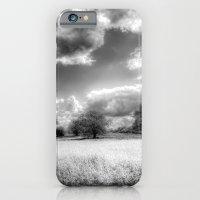iPhone & iPod Case featuring The Peaceful Farm by David Pyatt