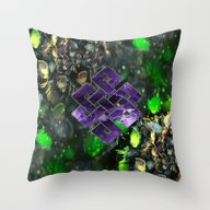 Eternal Cycle Of Light Throw Pillow