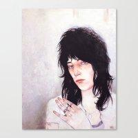 Patti Smith Canvas Print