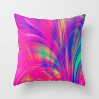 Splash. Throw Pillow