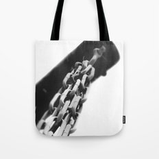 Chain of command. Tote Bag