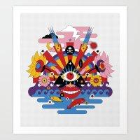 J-pop Art Print