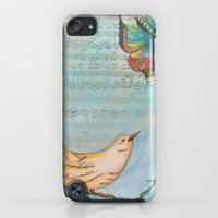 iPod Touch Cases featuring Songbird by Catherine Holcombe