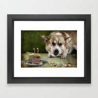 I Have To Hurry Before S… Framed Art Print