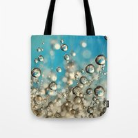 Crazy Cactus Droplets Tote Bag