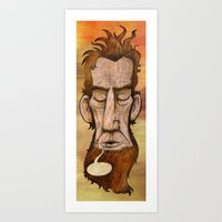 Lincoln's Last Words Art Print