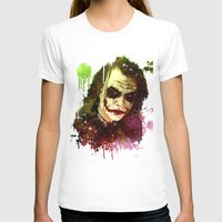 joker T-shirts featuring Joker by Sirenphotos