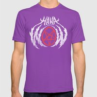 HAHAWOWSATANLOL Mens Fitted Tee Ultraviolet SMALL