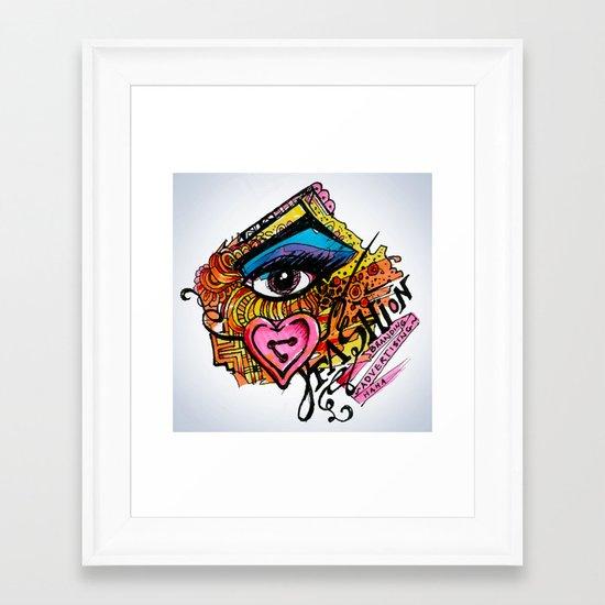 i  Framed Art Print