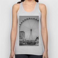 London Eye, London Unisex Tank Top